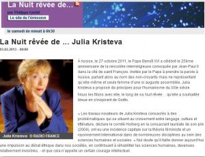 La Nuit rêvée de ... Julia Kristeva  jk-3-fev-2013-300x230